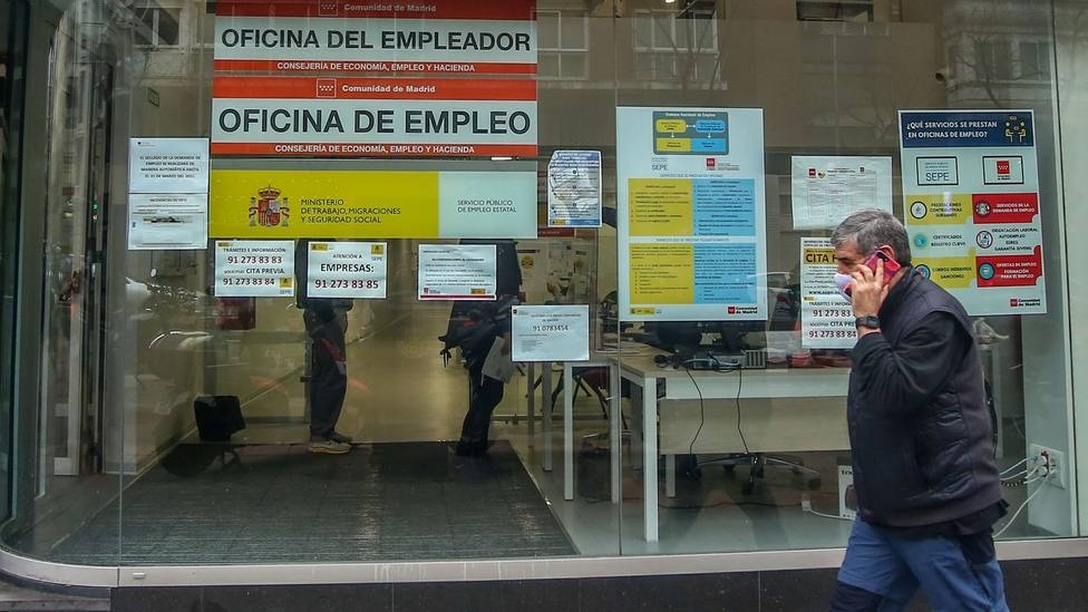 Desempleo en toda España