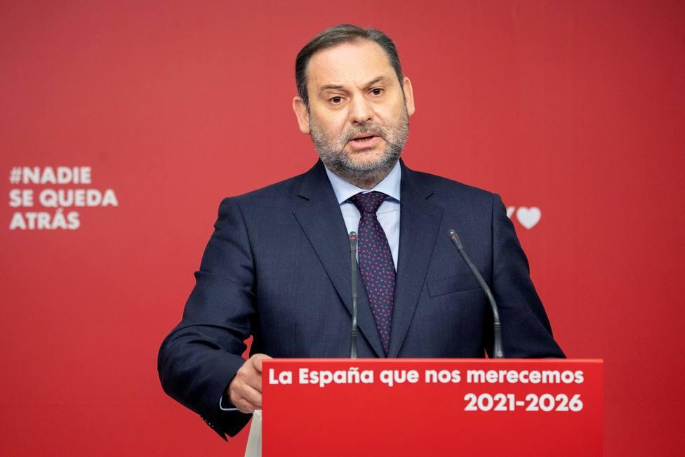 """Ábalos pide evitar """"elementos de desconfianza"""" que puedan deslegitimar el 14F"""