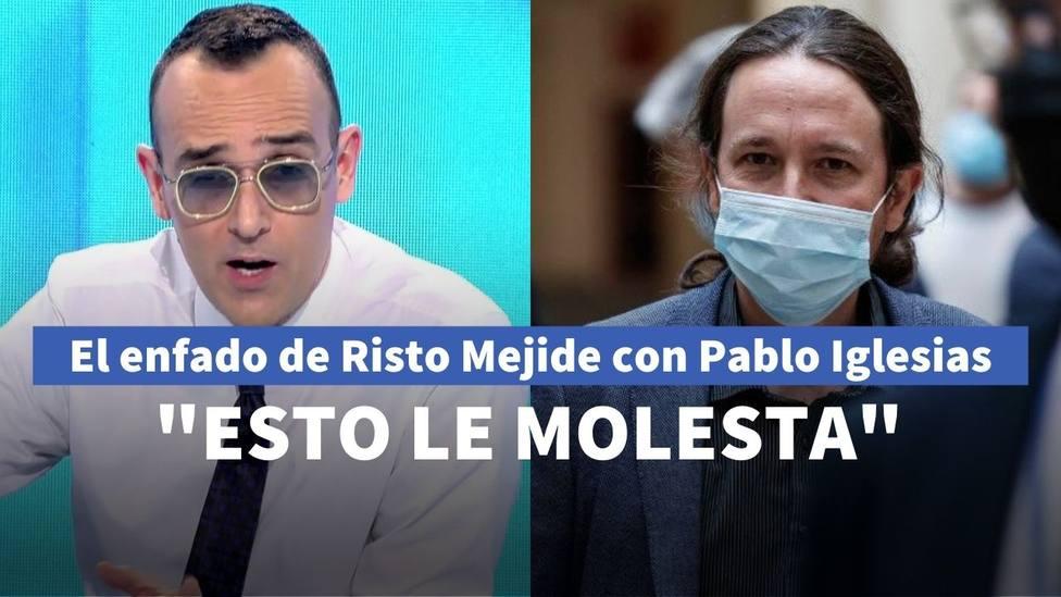 Risto Mejide planta cara a Iglesias destapando sus verdaderas intenciones en el Gobierno: Esto le molesta