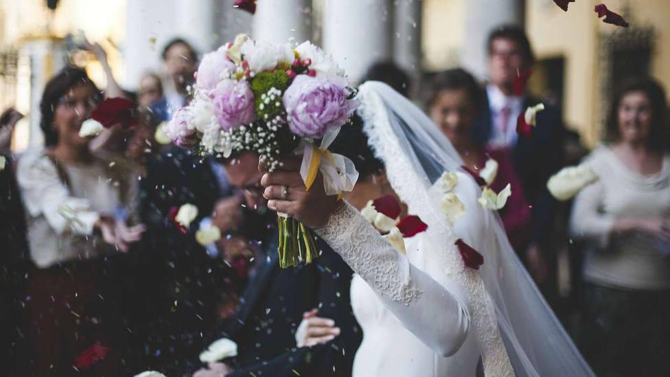 Las bodas sufren una caída del 43,3% en el tercer trimestre de 2020