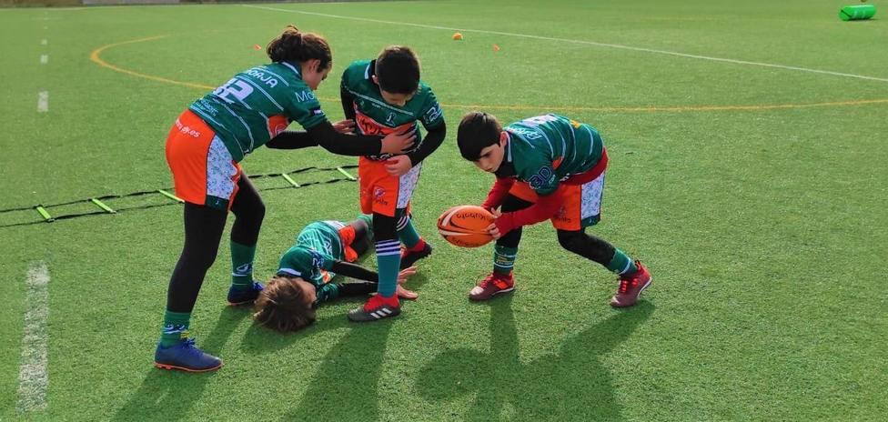 La Academia Kubota de Rugby PMD juega este sábado su primer partido oficial de Liga