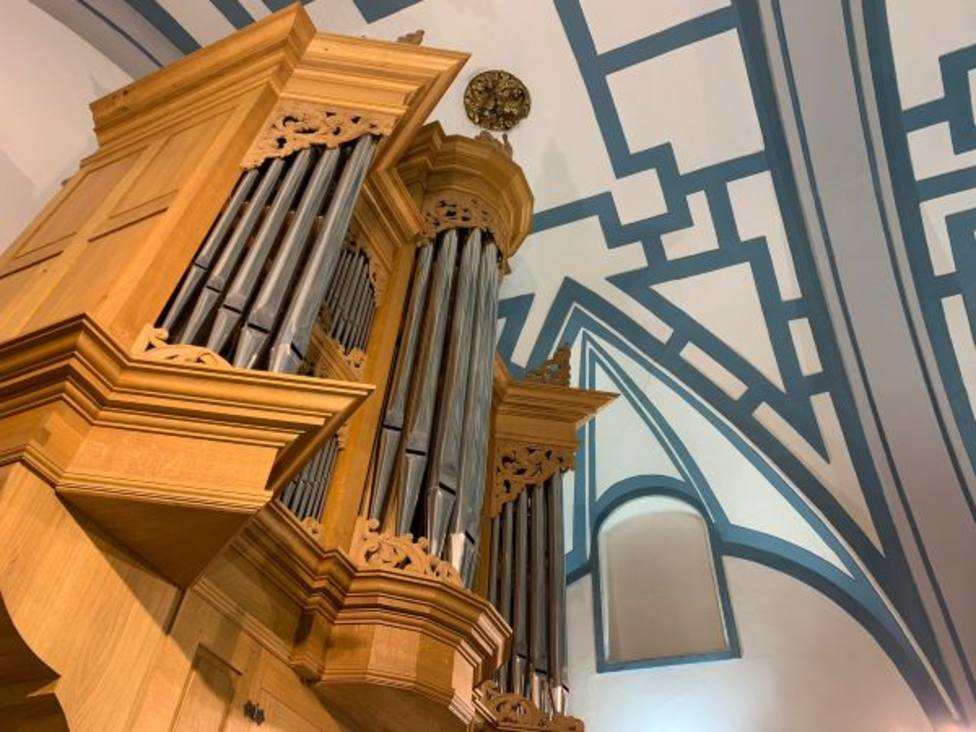 La iglesia de San Miguel acoge el ciclo de órgano 30 minutos de música para el alma