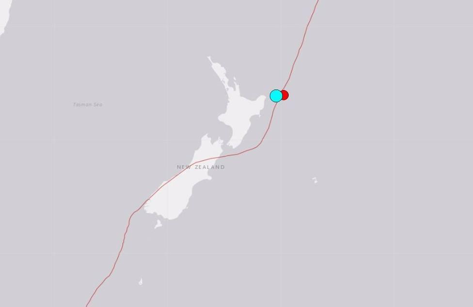 Nueva Zelanda activa la alerta de tsunami tras registrar un terremoto de magnitud 7,2