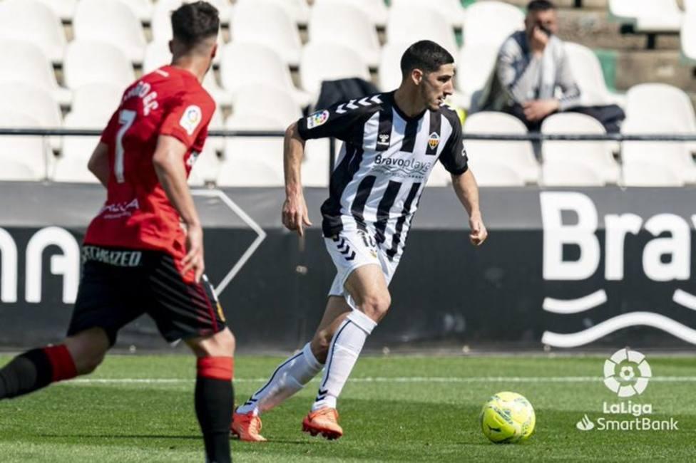 Bodiger se ha convertido en una pieza fundamental en el CD Castellón