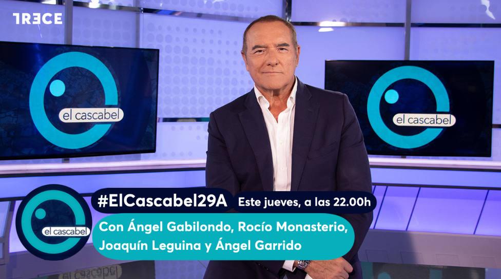 """Ángel Gabilondo y Rocío Monasterio, esta noche en """"El Cascabel"""""""