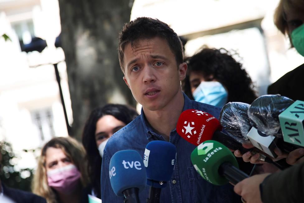Errejón, tras ejercer su derecho al voto: Madrid se juega el modelo del egoísmo frente al de la empatía