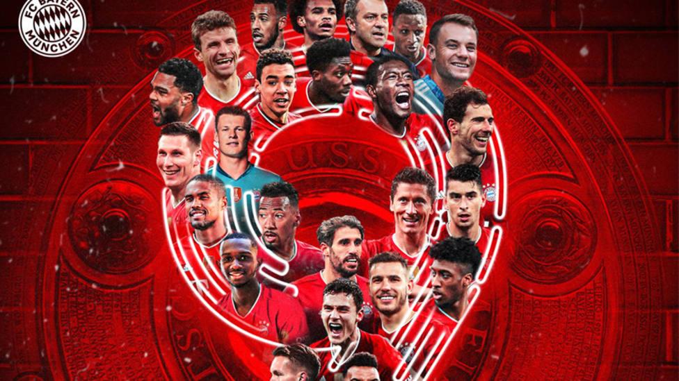 El Bayern de Múncih, campeón de la Bundesliga
