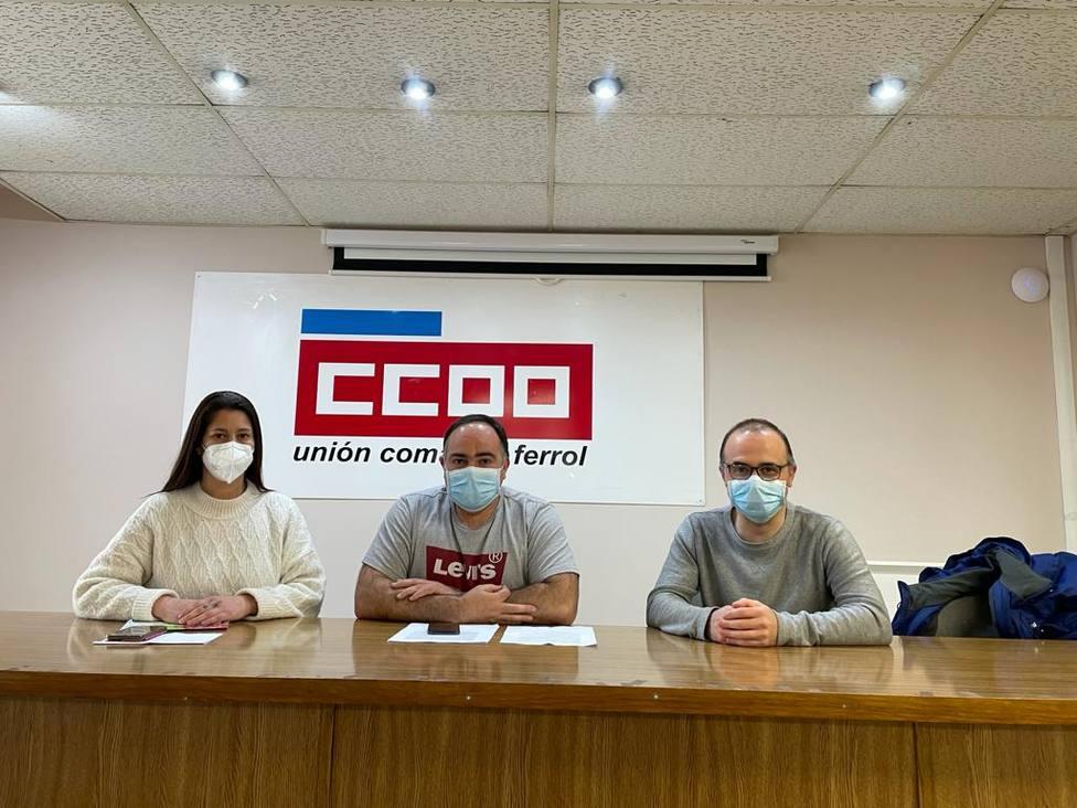 Nuria Fernández, Víctor Ledo y Miguel Pol - FOTO: Cedida