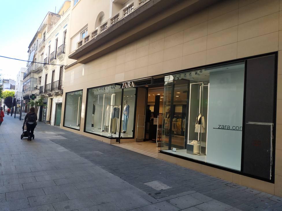 Zara en la Calle Menacho