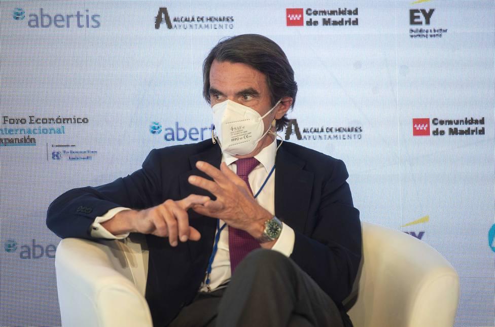 Aznar, sobre los indultos: Hay que actuar con todas las consecuencias y saber decir no