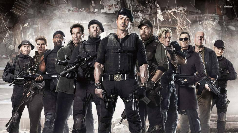 """TRECE estrena este sábado """"Los Mercenarios"""", con Schwarzenegger, Bruce Willis, Stallone y Jason Statham"""