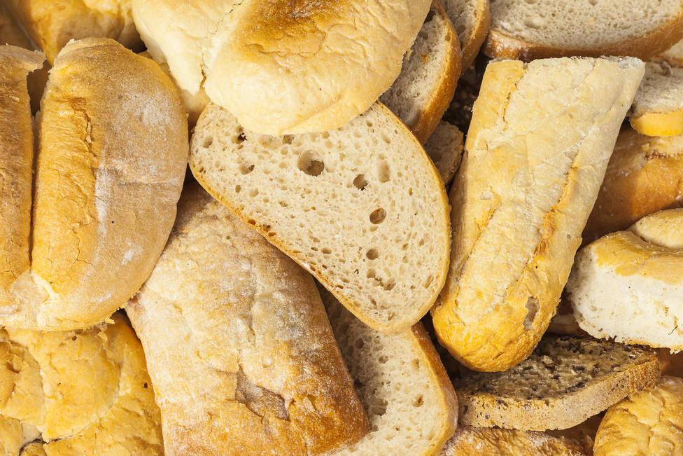 Pan duro, imagen de archivo