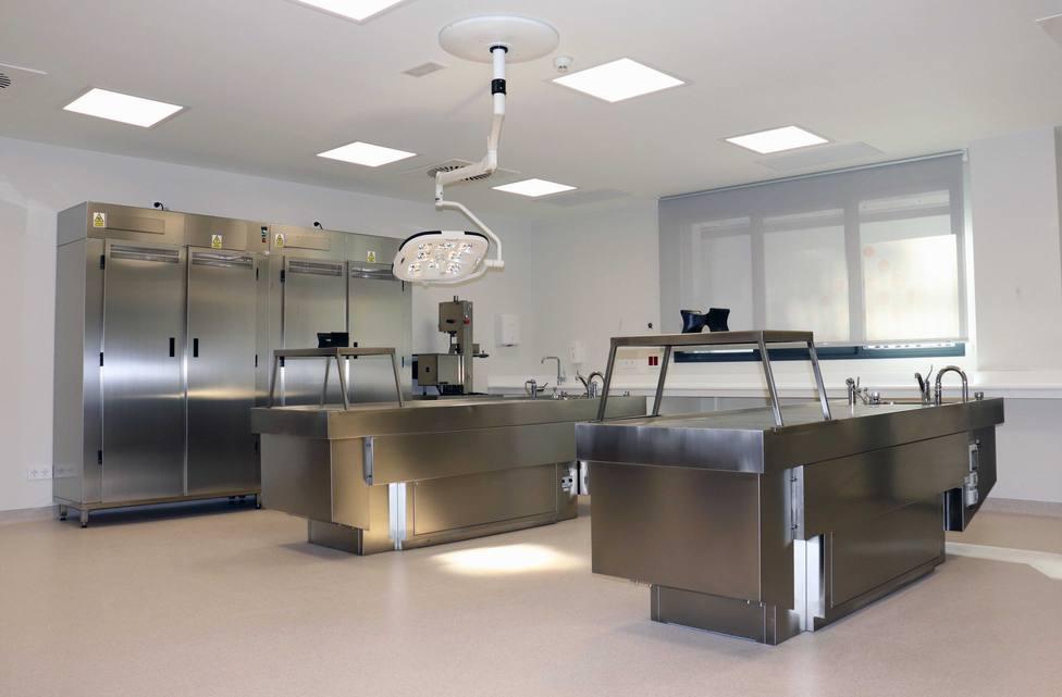 Instalación de Anatomía Patológica en el nuevo hospital de Salamanca