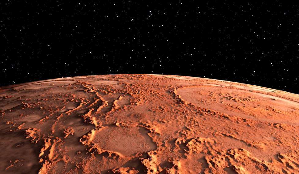 Marte. Imagen de recurso
