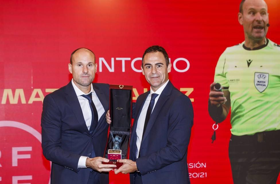 Mateu Lahoz, mejor árbitro de LaLiga Santander en la temporada 2020-21