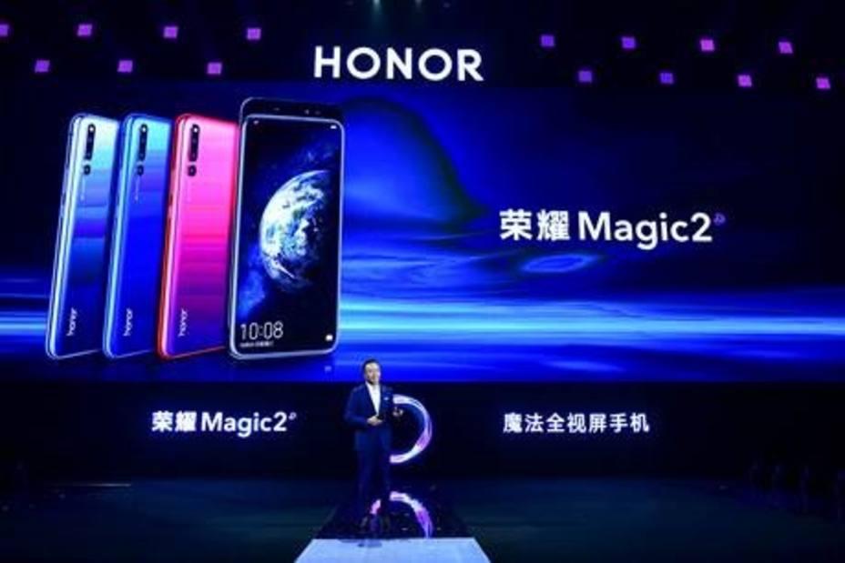 Honor presenta Magic 2, un móvil con seis lentes y cámara frontal retráctil