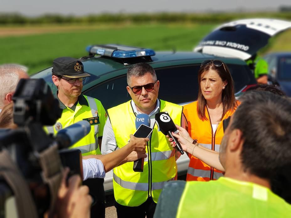 El Delegado del Gobierno en Valencia destaca la rápida actuación del Ejecutivo ante los daños causados por las lluvias