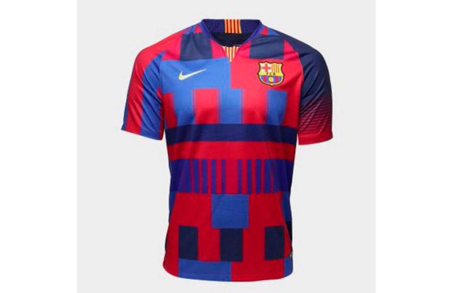 263ad2e045d22 Nike lanza una camiseta de colección para conmemorar sus 20 años con el  Barça