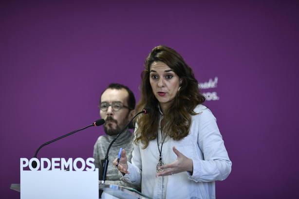 Podemos critica los bandazos de Sánchez y pide retomar la mesa de partidos para hablar de autodeterminación y de todo