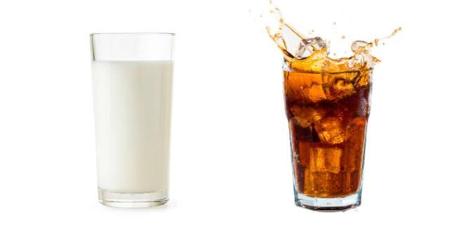 MilkCoke: un reto viral con una bebida poco recomendable