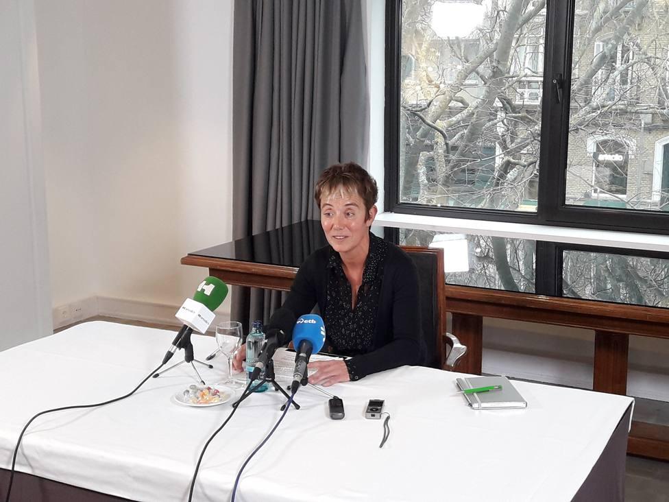 La madre de uno de los condenados de Alsasua encabezará la lista de EH Bildu por Navarra al Congreso