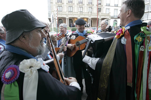 Ferrol celebrará este lunes uno de los días más especiales del Año, el de las Pepitas - FOTO: Efe/Kiko Delgado