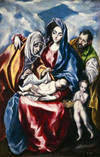 ctv-bkd-la sagrada familia con santa ana y san juanito