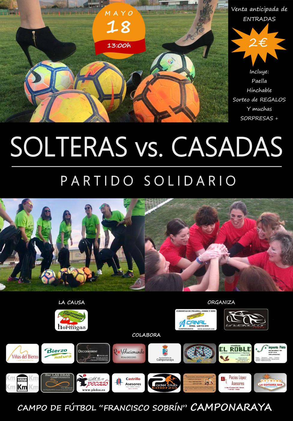 Sábado de deporte y solidaridad en Camponaraya