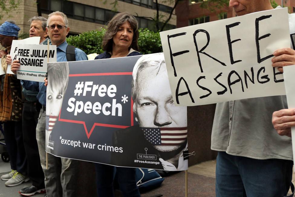 EEUU solicita formalmente a Reino Unido la extradición de Assange, según The Washington Post