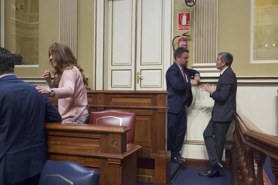 Antona y Clavijo en el Parlamento
