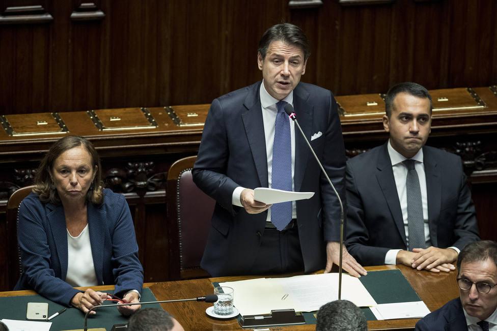 Conte promete una Italia mejor e insta al nuevo Gobierno a dejar de lado litigios y rencores