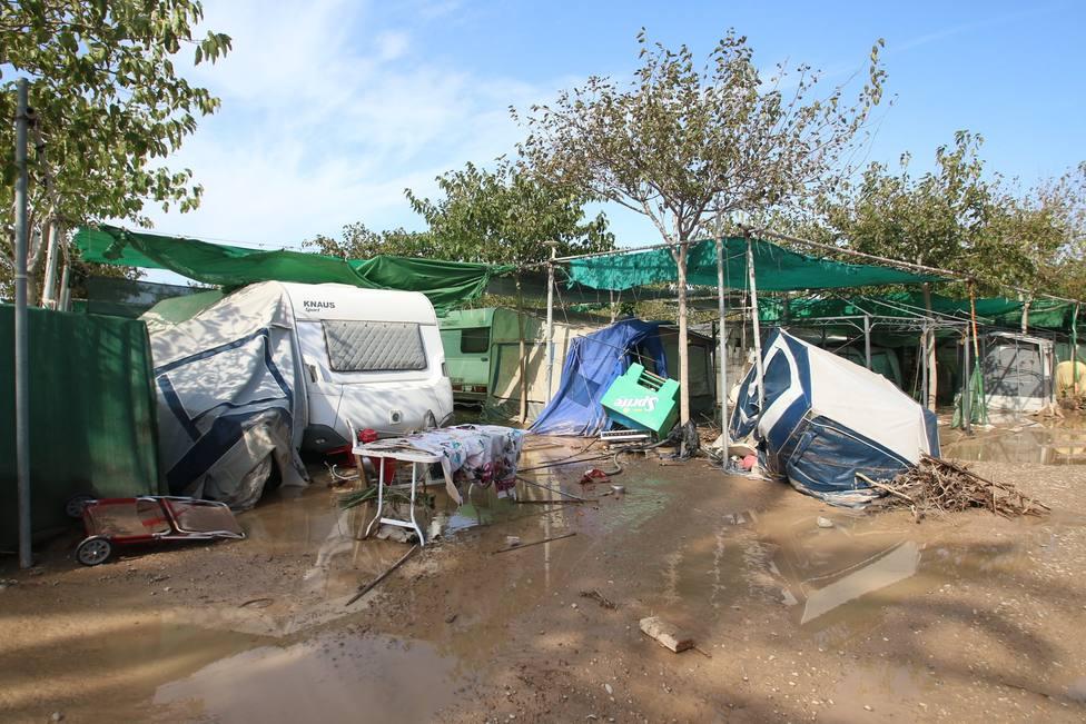 El PP pide al Gobierno la declaración de zona catastrófica tras las fuertes riadas e inundaciones en Almería