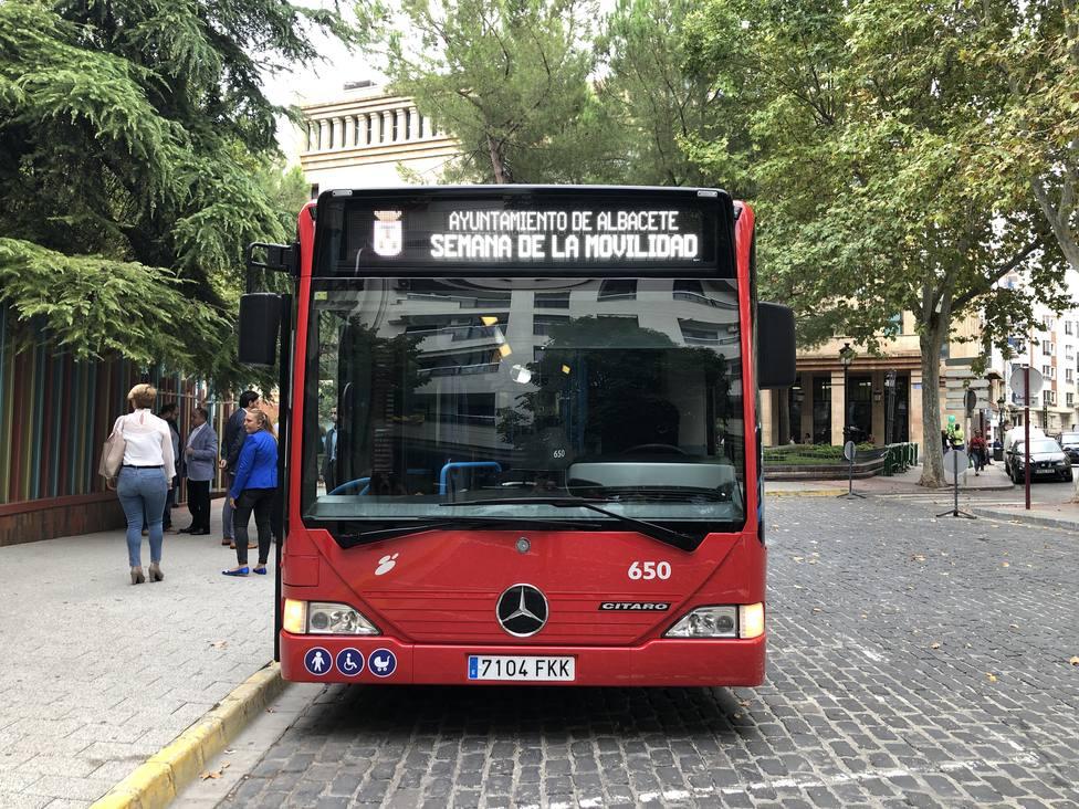 Autobús urbano Albacete