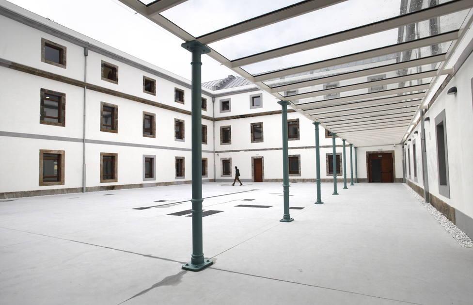 Interior de la Audiencia Provincial de A Coruña - FOTO: Efe / Cabalar