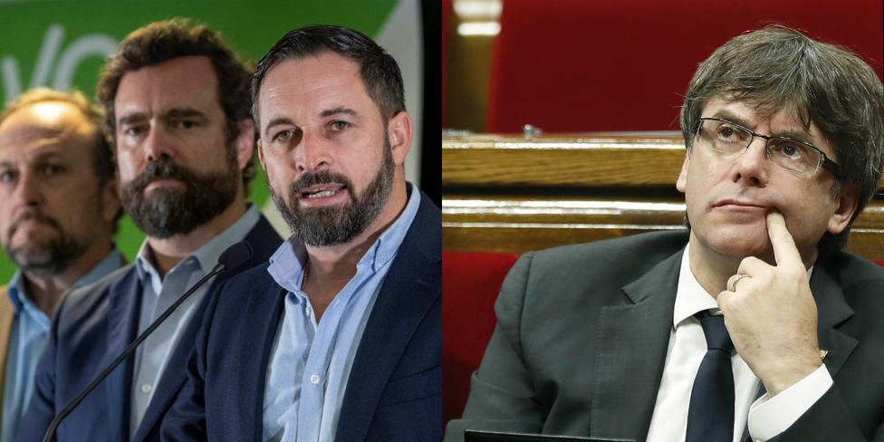 La seria amenaza de Santi Abascal a Bélgica si no entrega a Puigdemont