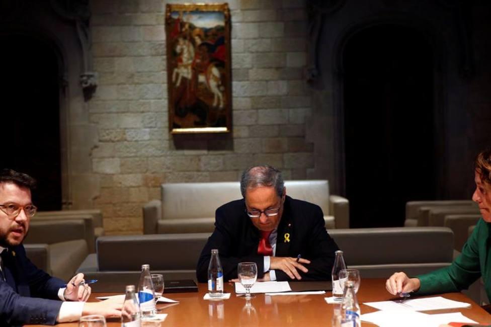 Torra rechaza por carta a Sánchez que le dé lecciones de condenar la violencia