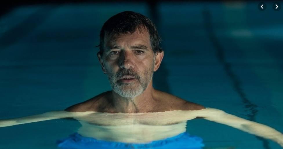 Antonio Banderas interpreta a Salvador Mallo en la película de Pedro Almodóvar Dolor y gloria