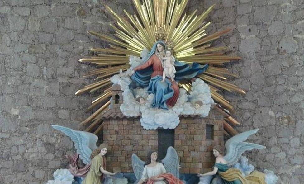 Nuestra Señora de Loreto, la Patrona de la aviación