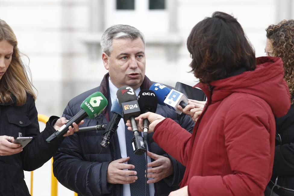 El portavoz del PdeCAT en el Congreso de los Diputados, Jordi Xuclá