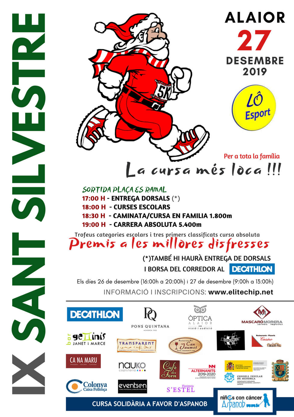 IX San Silvestre de Alaior 2019