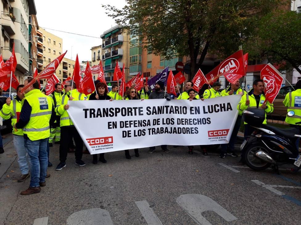 PROTESTA TRABAJADORES
