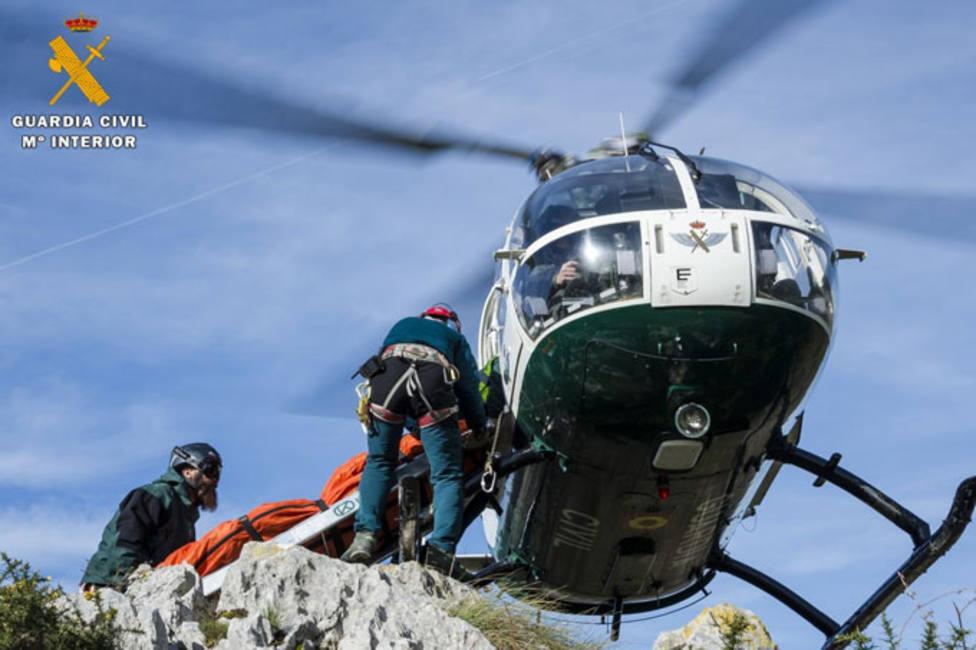 La Guardia Civil rescata en la montaña Palentina a una mujer polaca de 31 años