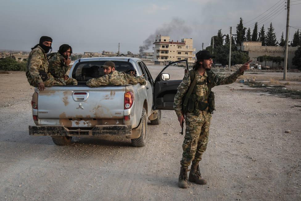 Los rebeldes ponen en marcha una ofensiva en el noroeste de Siria para recuperar Saraqib de manos de Al Assad