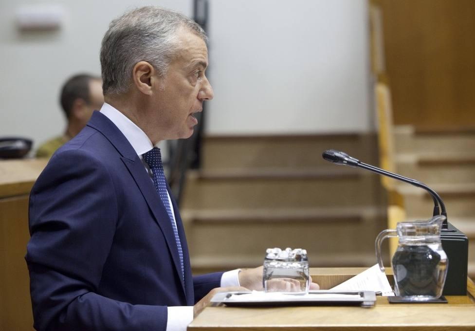 Urkullu anunciará esta tarde el adelanto de las elecciones vascas