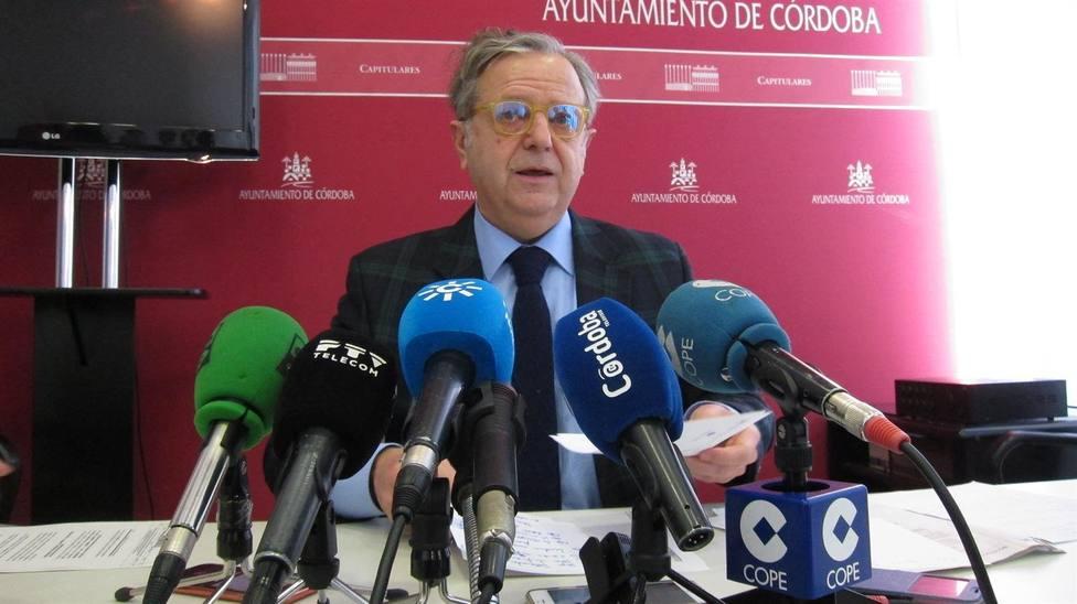 Salvador Fuentes, presidente de la Gerencia Municipal de Urbanismo