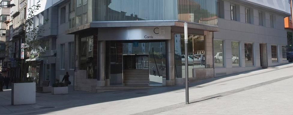 El hotel Carrís Almirante de Ferrol está ubicado en el número 2 de la Calle María