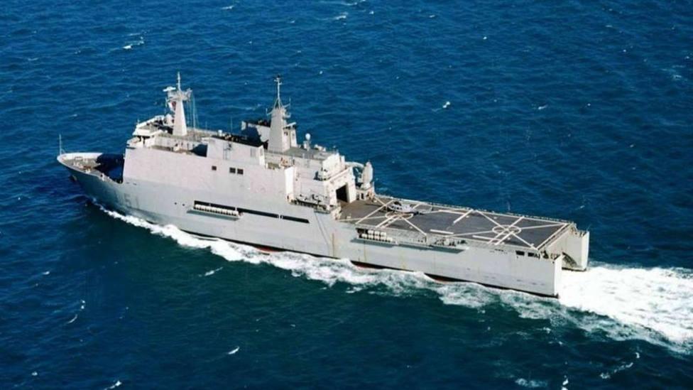 El buque Galicia se dirige hacia Melilla para ayudar en labores sanitarias por el coronavirus