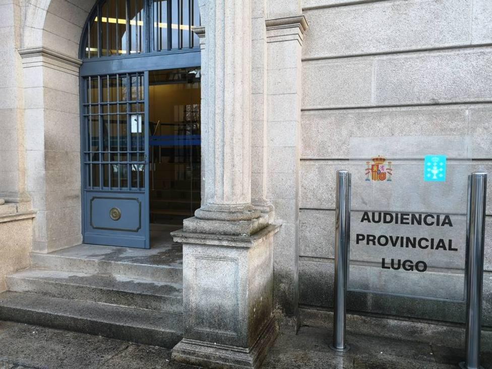Exterior de la Audiencia Pronvincial de Lugo - FOTO: COPE Lugo