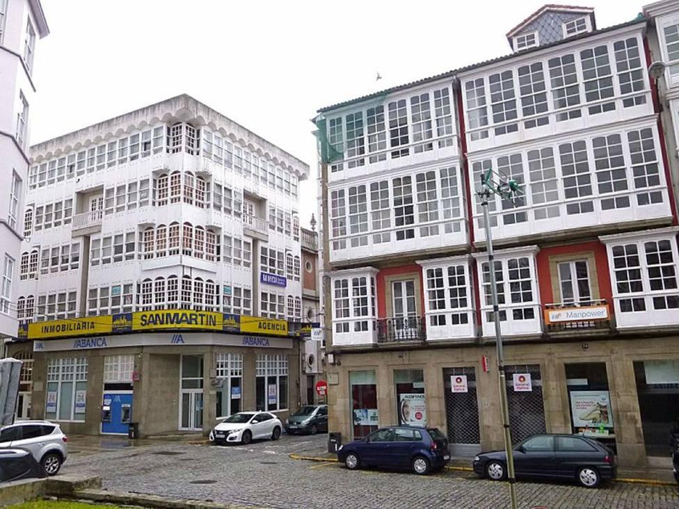Barrio de la Magdalena, en Ferrol