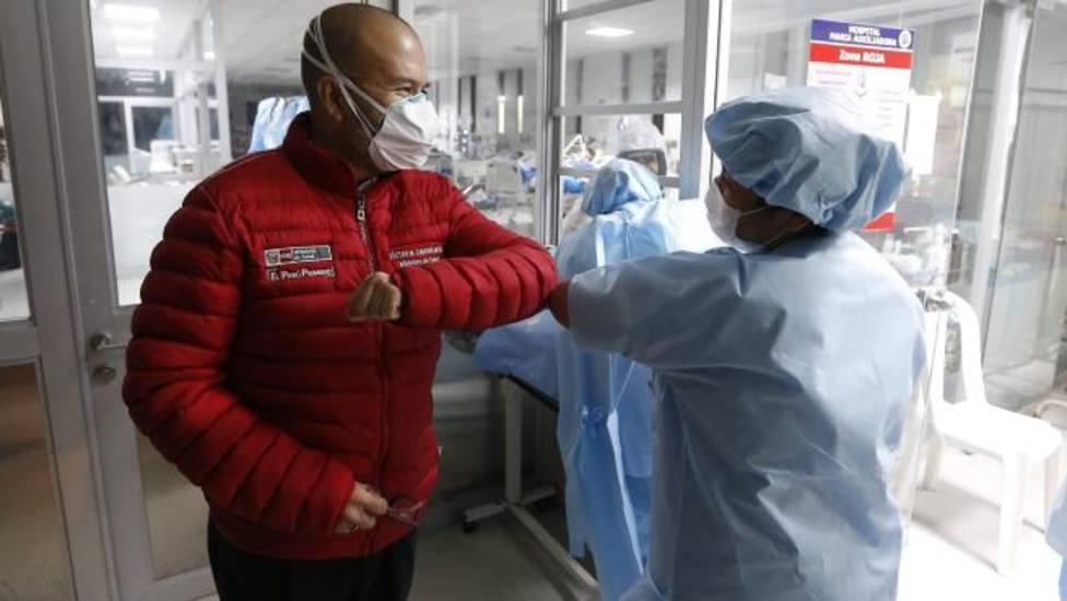Recibe el alta el último paciente ingresado por COVID-19 en el Hospital San Pedro